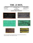 The 22 Box - Volume 28 Number 2