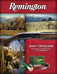 2007 Remington Retail Catalog