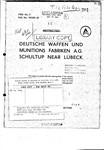 CIOS XXXIII-20 DWM Schultup nr Lubeck