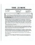 The 22 Box - Volume 13 Number 1