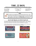 The 22 Box - Volume 15 Number 6