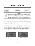 The 22 Box - Volume 16 Number 1